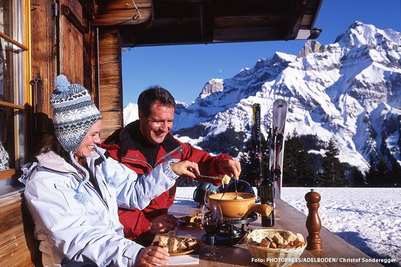 Klassisches Schweizer Käsefondue