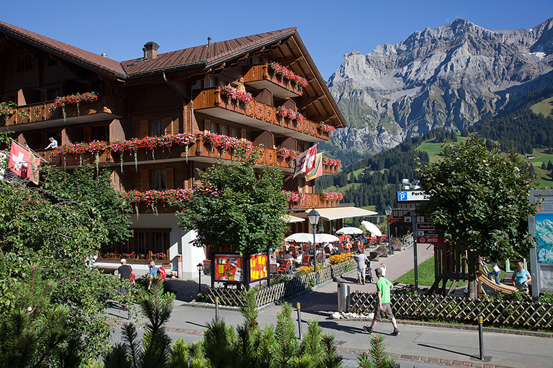 Sommerurlaub im Hotel Adler Adelboden