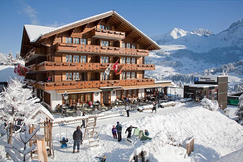 Winterurlaub im Hotel Adler Adelboden