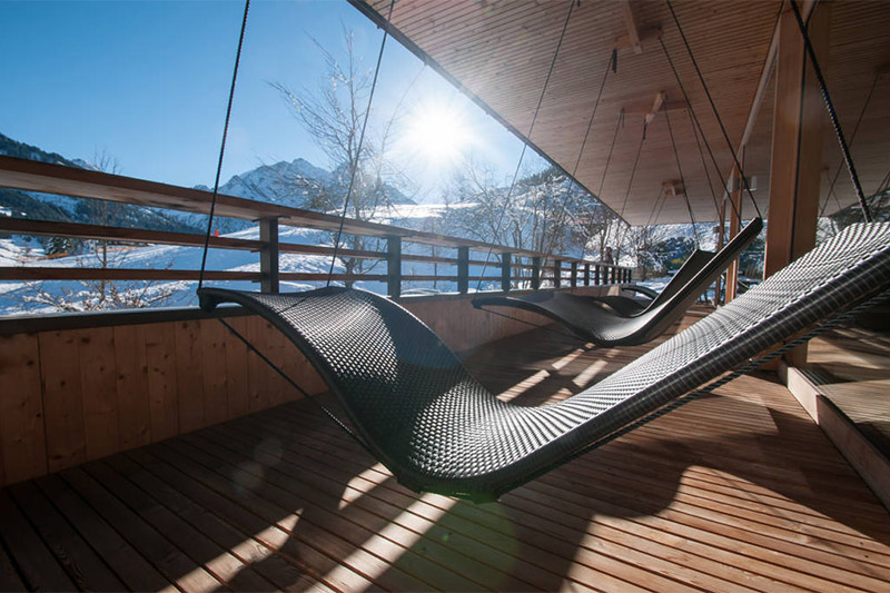 Winter-Wellnessurlaub im Naturhotel Chesa Valisa