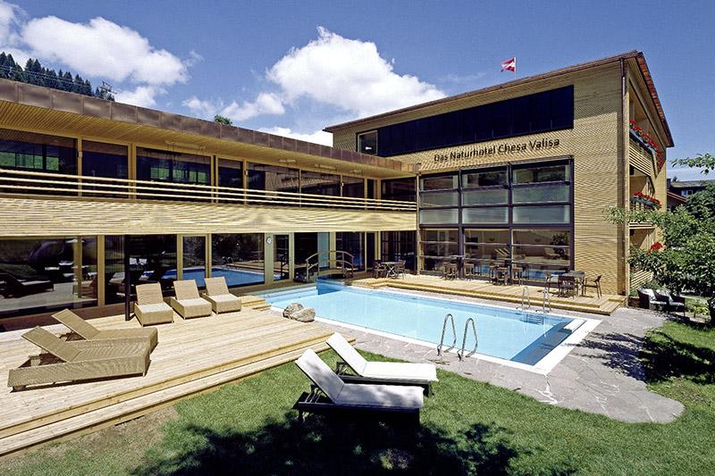 Sommerurlaub im Naturhotel Chesa Valisa