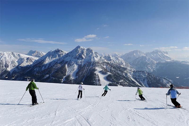 Das Skigebiet am Kronplatz: 100 km bestens präparierte Pisten und 32 modernste Aufstiegsanlagen