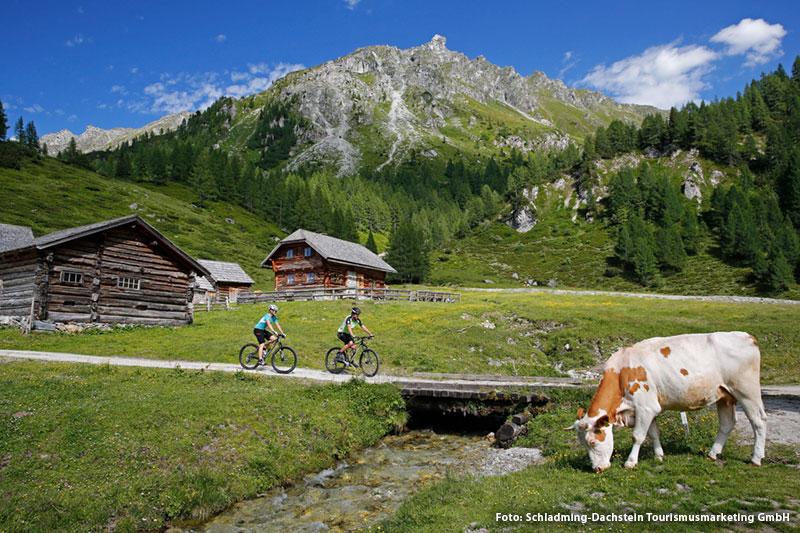 Radfahren und Mountainbiken auf dem Ramsauer Hochplateau