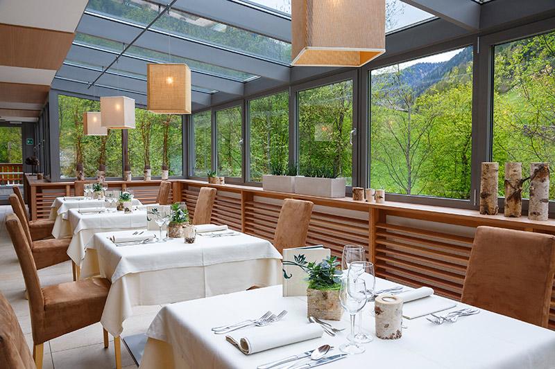 Top-Restaurant mit hervorragenden Zutaten