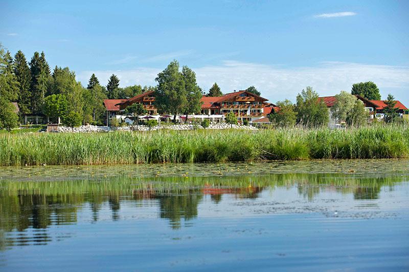 Sommerurlaub im Parkhotel am Soier See