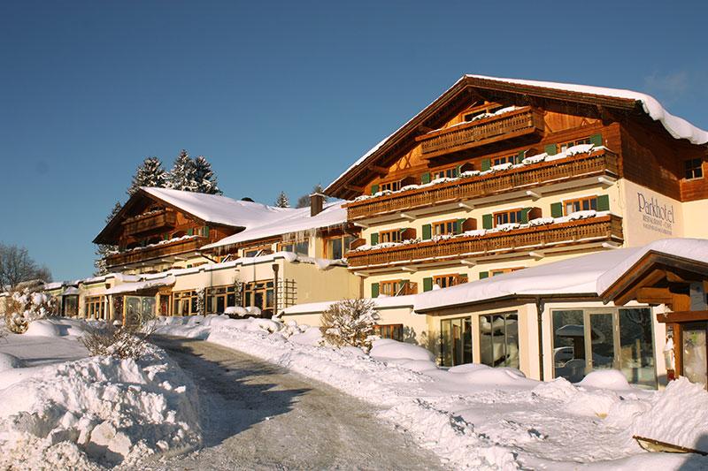 Winterurlaub im Parkhotel am Soier See