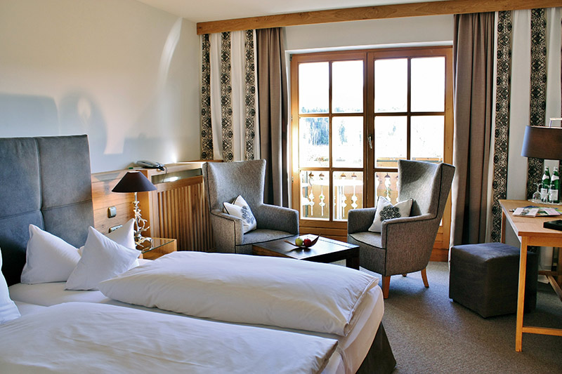 Zimmer mit Balkon oder Terrasse
