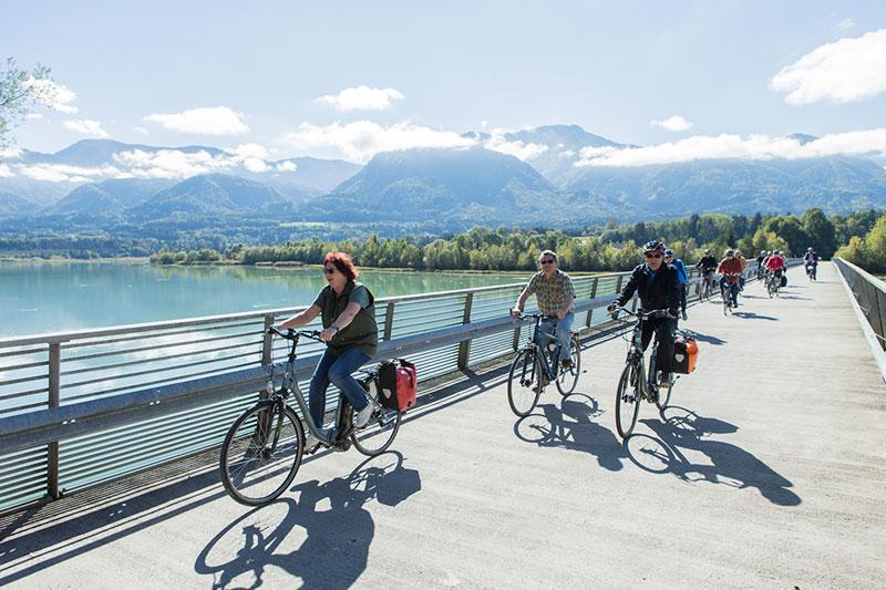Touren für Genussradler in Kärnten