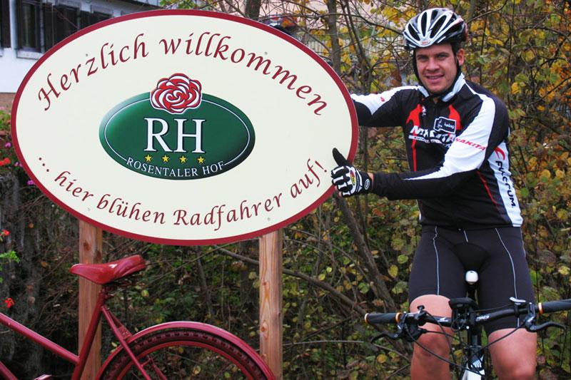 Radfahrerhotel Rosentaler Hof in Kärnten