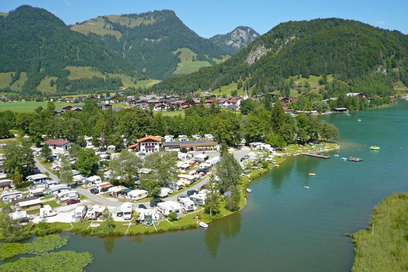 Campingplatz Seespitz am Walchsee
