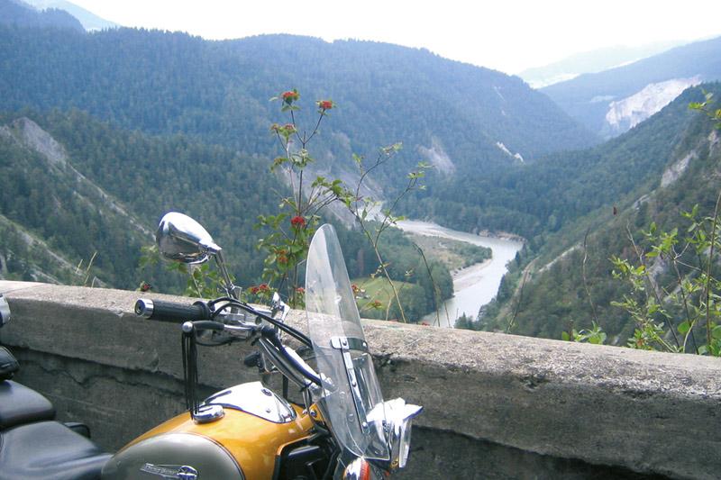 Motorradurlaub im Paznauntal