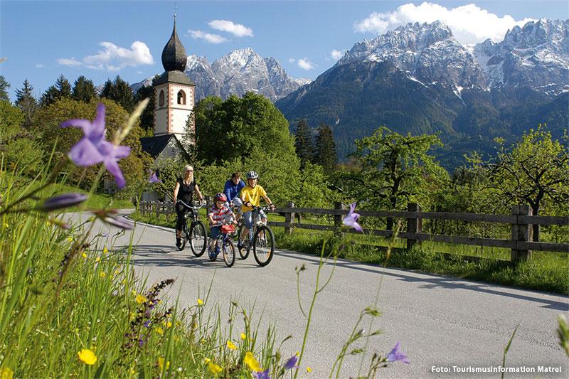 Radfahren in Matrei