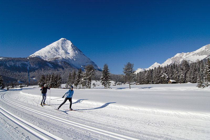 Langlaufen in Leutasch