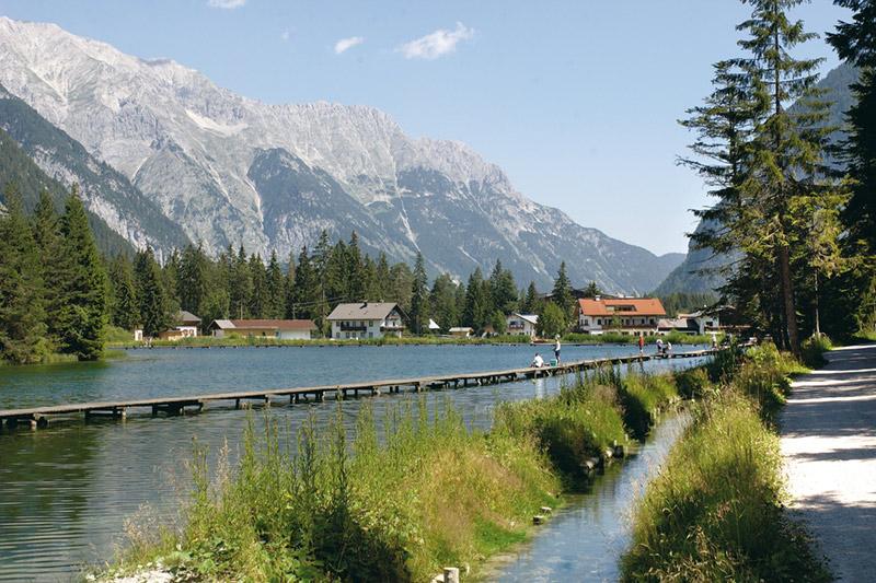 Weidachsee in der Olympiaregion Seefeld