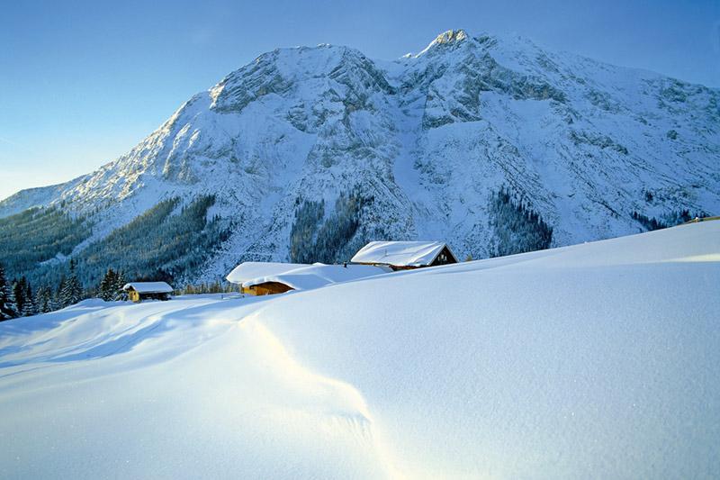 Winteridylle in der Olympiaregion Seefeld