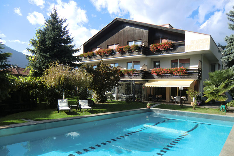 Sommerurlaub im Garni Hotel Weingut
