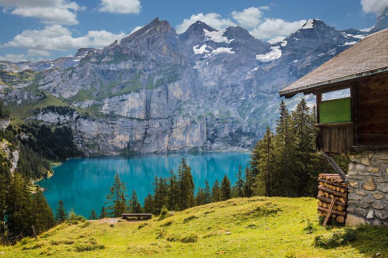 Campen inklusive Bergkulisse und Alpenpanorama