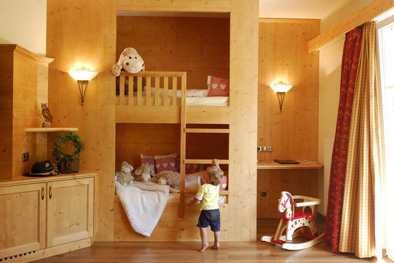 Alpi Suite für 3 bis 6 Personen, mit Etagenbett