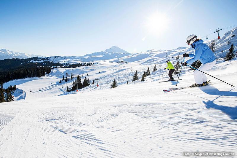 Ein Traum in Weiß für große und kleine Pistenwedler im Skigebiet Ratschings-Jaufen