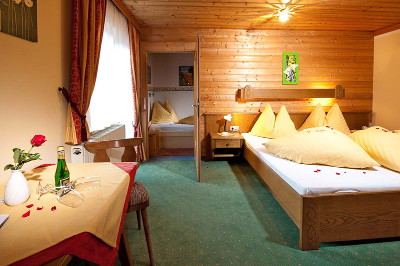 Doppelzimmer im Gästehaus Hagenhofer