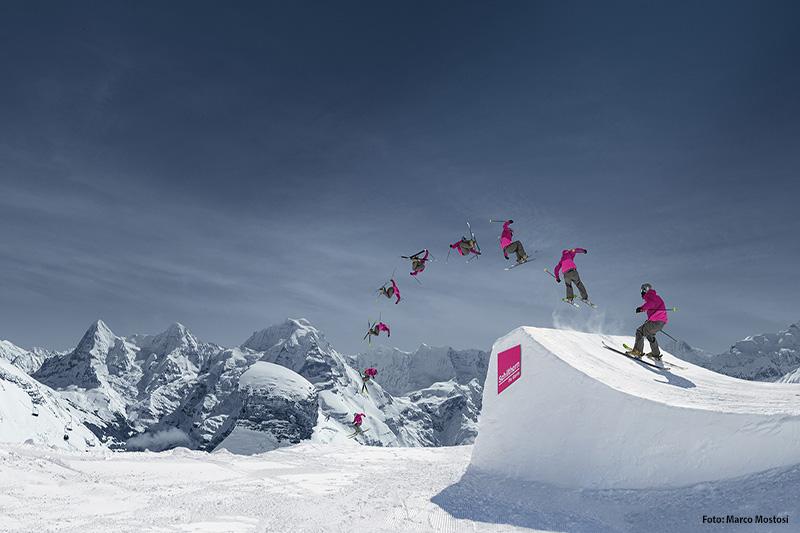 Snowpark Mürren-Schilthorn