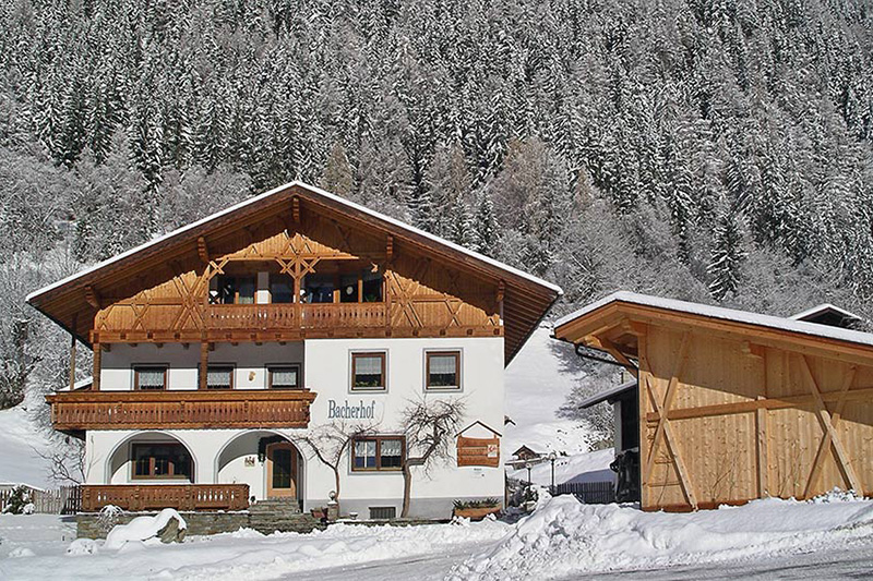 Winterurlaub im Bacherhof