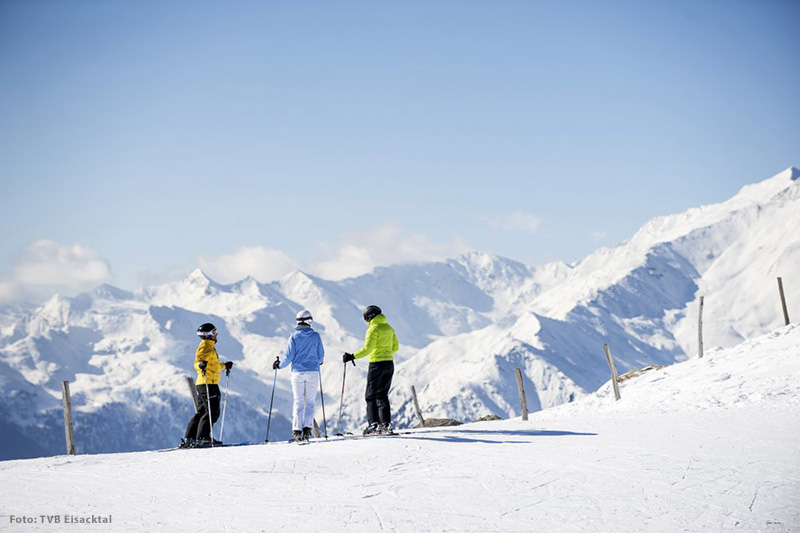Skifahren im Eisacktal