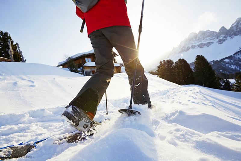 Schneeschuhwandern im Eisacktal