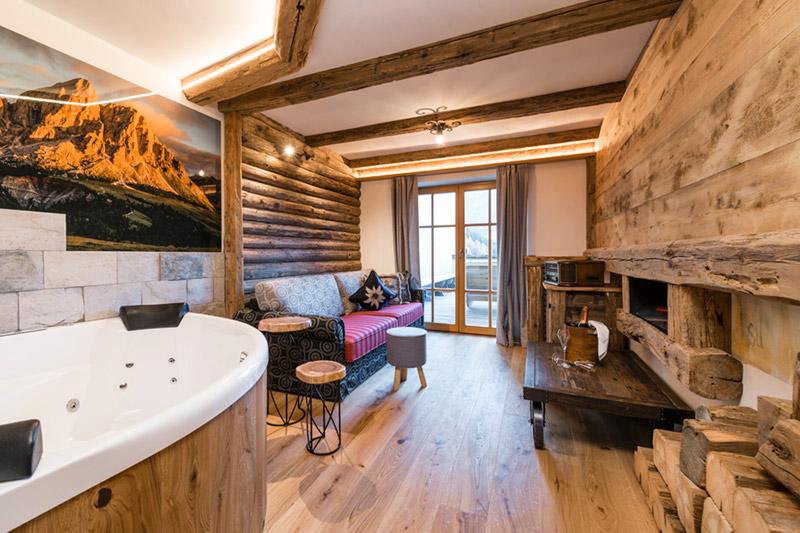 Dolomitensuite inkl. Sauna für 2-3 Personen auf 65 m²