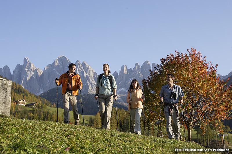 Herbsturlaub im Eisacktal - auch dann genießt Du die Kunst des Seins im Hotel Bergschlössl