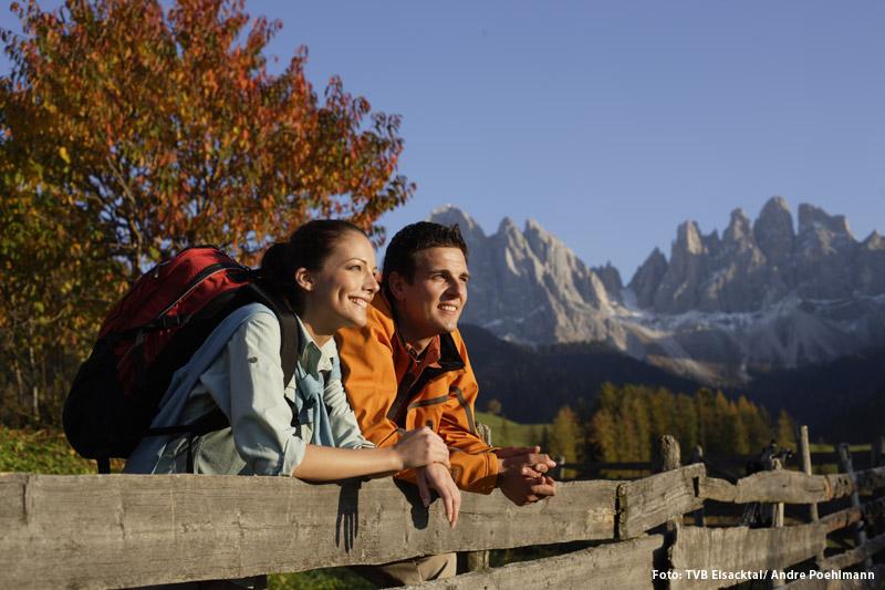 Herbsturlaub im Eisacktal