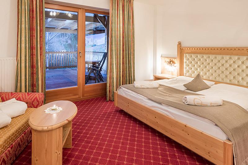 Schlafgemach der Salighen für 2 Personen auf 35 m²