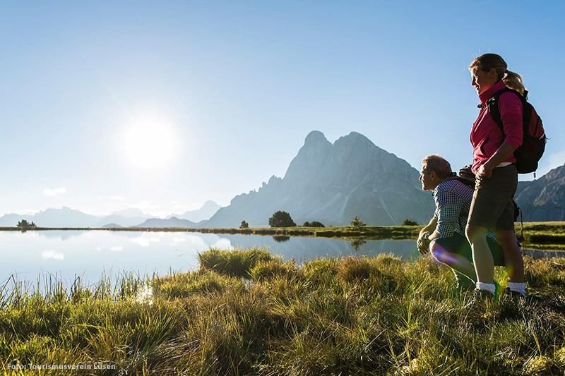 Lüsen in Südtirol wird nicht umsonst als das Tal der Wanderfreunde bezeichnet
