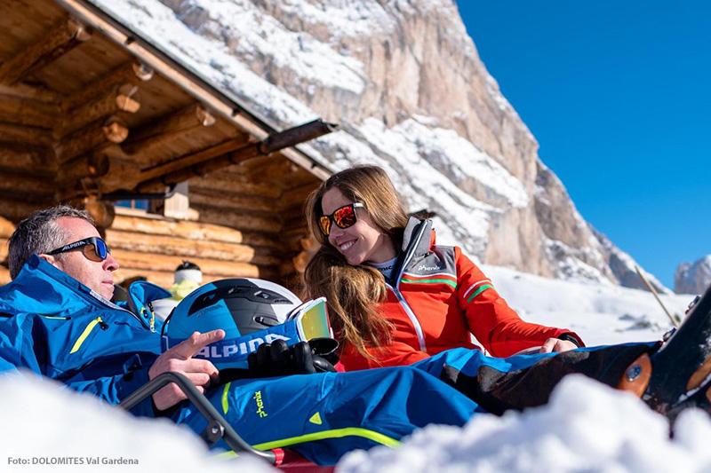 Auszeit genießen in den Dolomiten