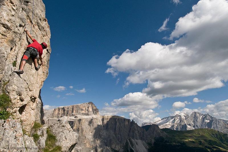 Alpinklettern und mehr: Klettern in Gröden