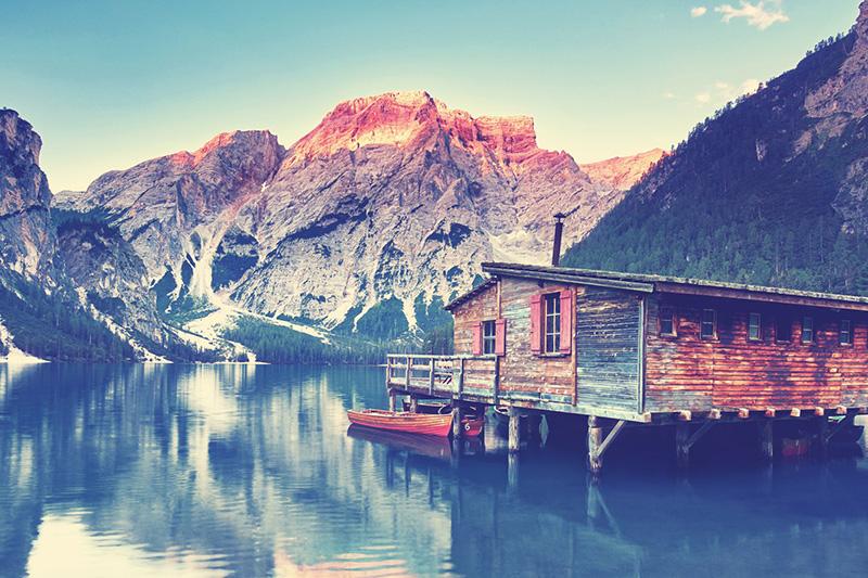 Die Grödner Dolomiten glänzen in ihrem sommerlichen Charme!