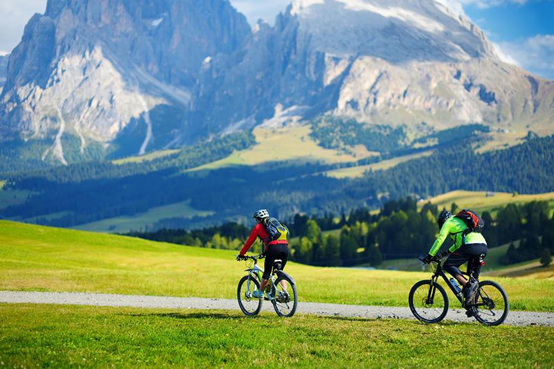 Mountainbiken in Gröden