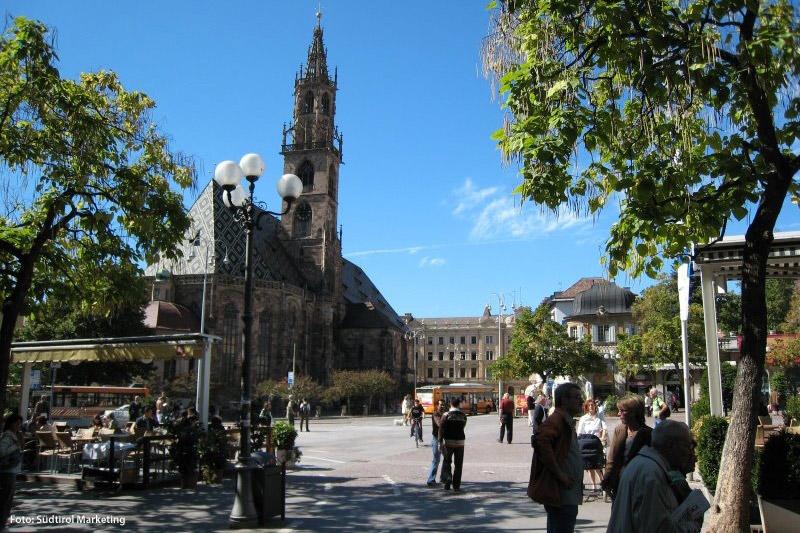 Waltherplatz in Bozen
