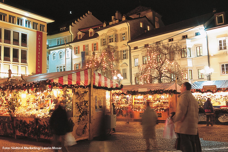 Weihnachtsmarkt in Bozen