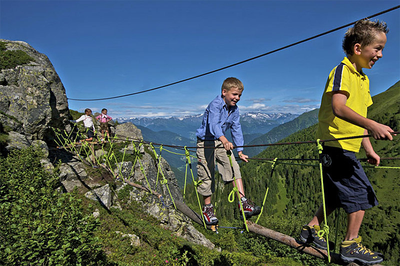 Mit der Almencard inklusive: Freizeitprogramm für Kinder