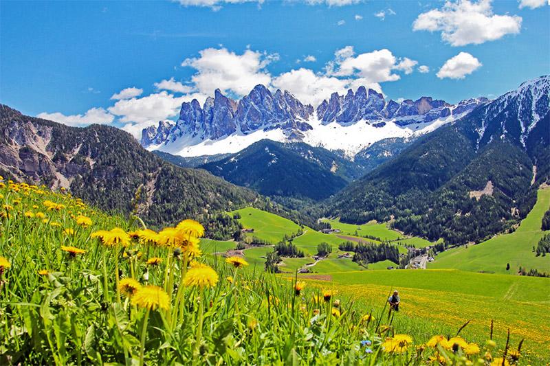 Villnößtal in Südtirol