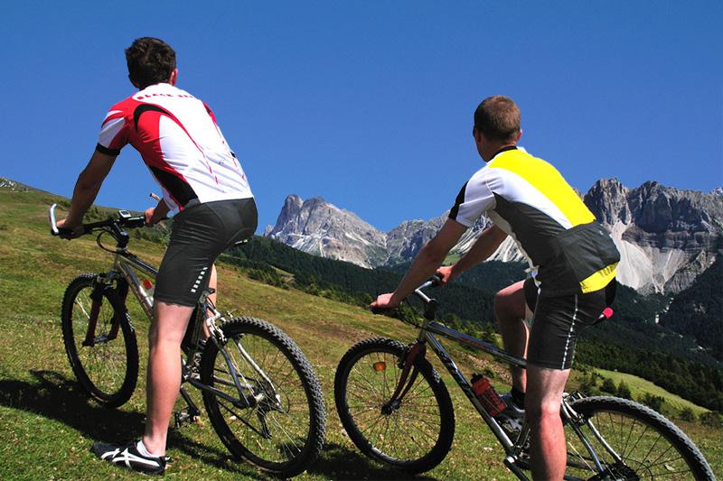 Mountainbiken im Pustertal