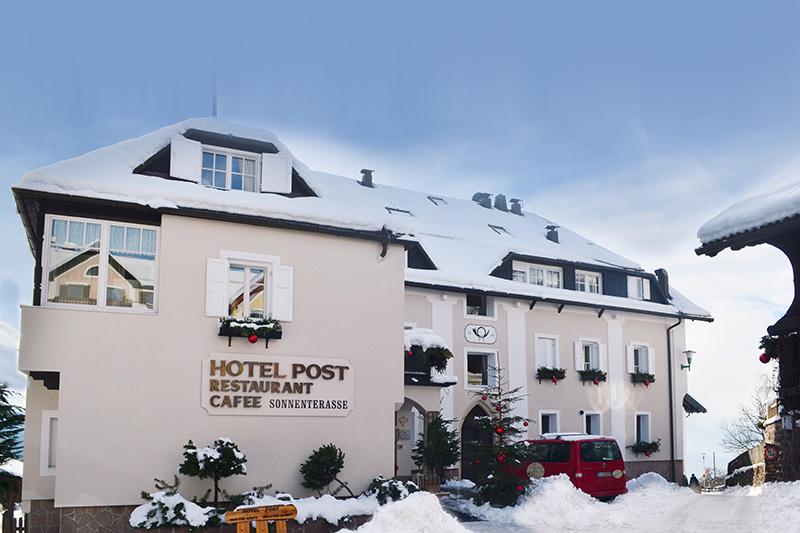 Winterurlaub im Hotel Post Victoria in Ritten