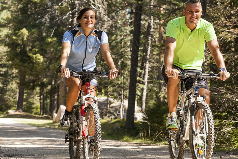 Radfahren am Ritten