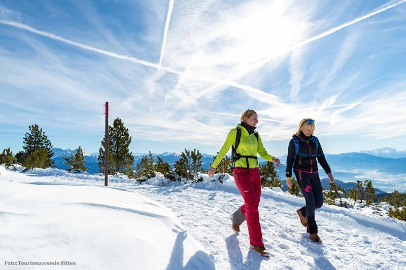 Im Winterurlaub auf dem Ritten werden Urlaubsträume wahr