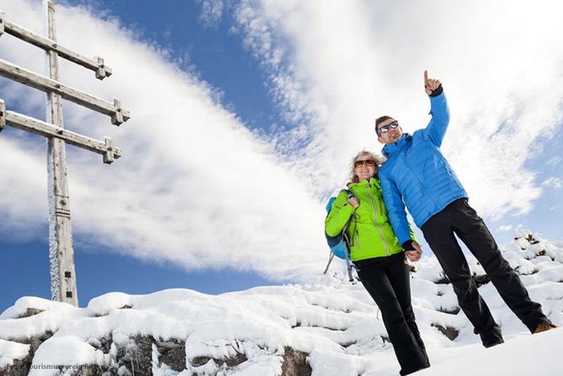 Auf dem Rittner Horn erwartet Sie Italiens erster Winter-Premium-Weg