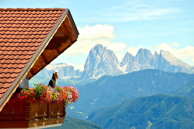 Einmaliger Dolomitenblick