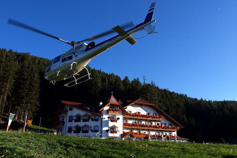 Dolomitenrundflug mit dem Helikopter