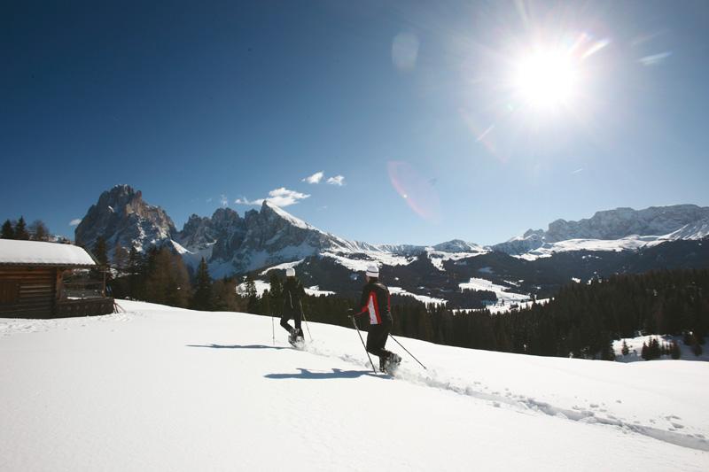 Winterwandern auf der Seiseralm