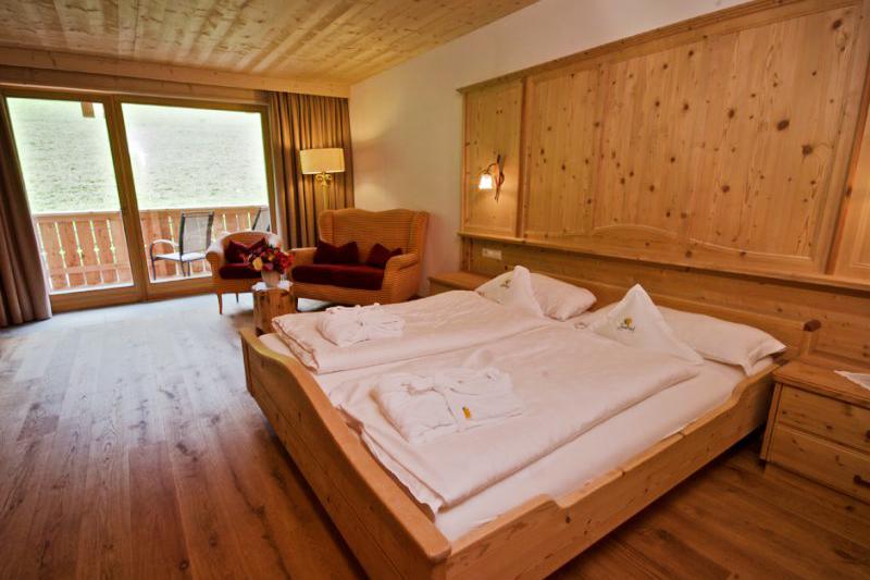 Familienzimmer Lavendel 28m² im Wanderhotel Lüsnerhof in Südtirol